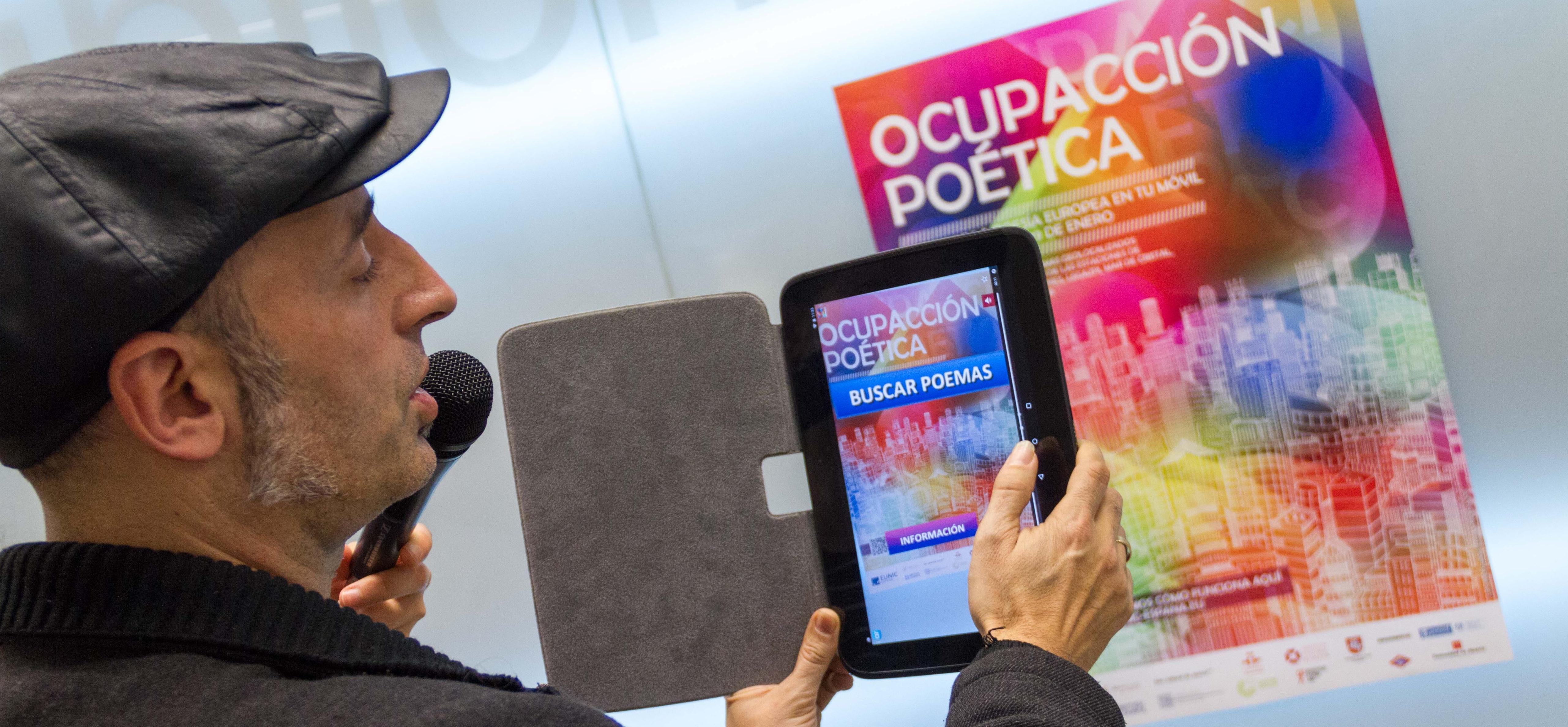 Ocupación poética - Metro Madrid